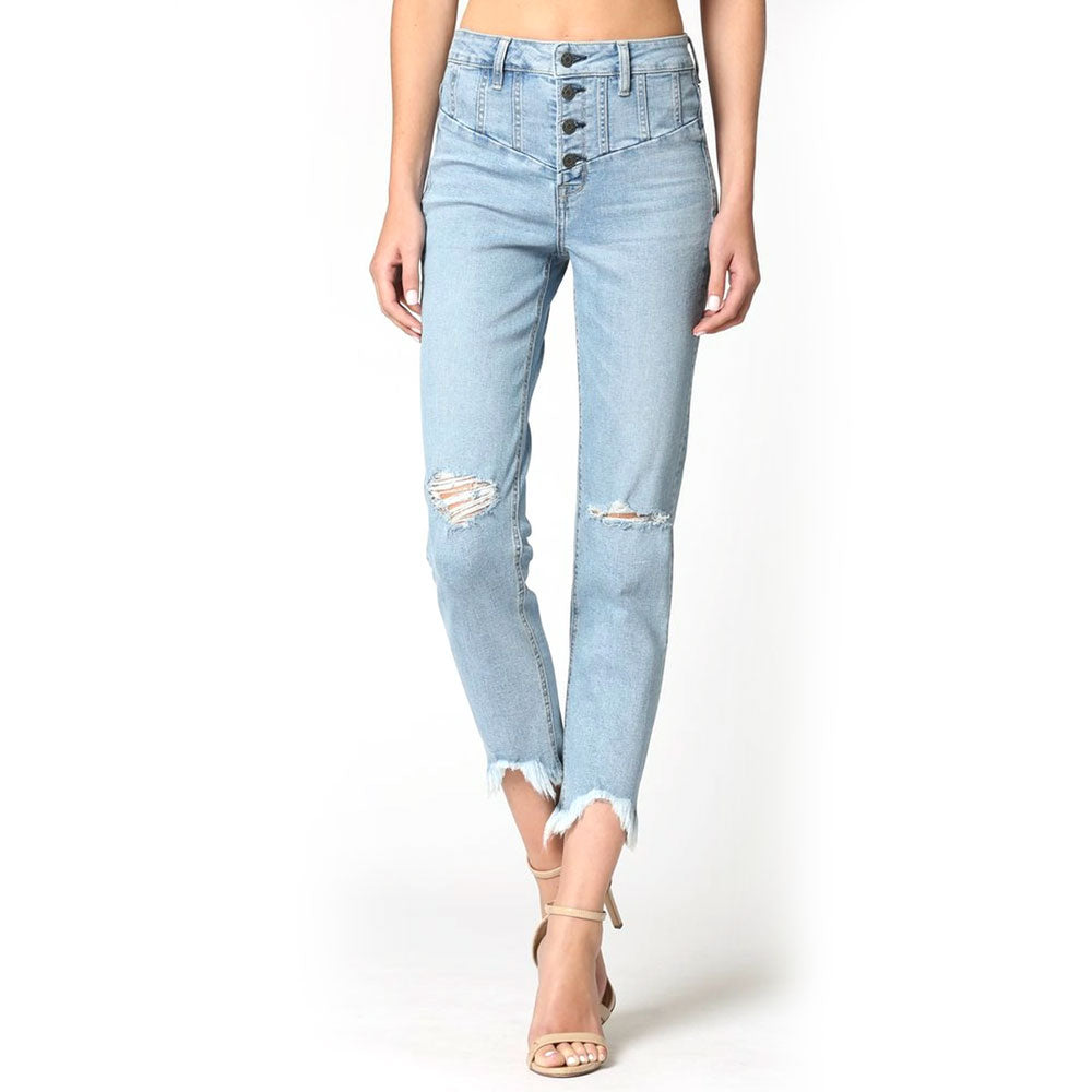Hidden Harley Slim Fit Mom Jean WOMEN - Clothing - Jeans HIDDEN JEANS Teskeys