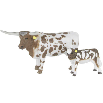 Big Country Toys Longhorn Cow & Calf Farm & Ranch - Toys and DVDs Big Country Toys Teskeys