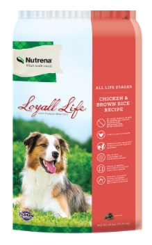 Loyall Life All Life Stages Chicken & Brown Rice Recipe FARM & RANCH - Animal Care - Pets - Accessories - Feeders & Waters Nutrena Teskeys