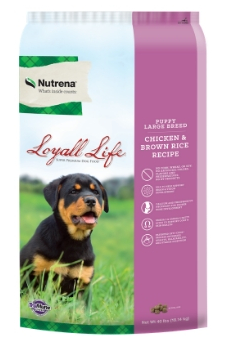 Loyall Life Puppy Large Breed Chicken & Brown Rice Recipe FARM & RANCH - Animal Care - Pets - Accessories - Feeders & Waters Nutrena Teskeys