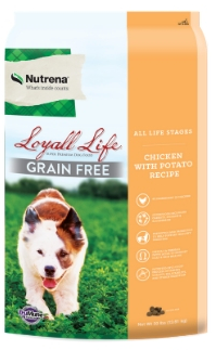 Loyall Life Grain Free All Life Stages Chicken with Potato Recipe FARM & RANCH - Animal Care - Pets - Accessories - Feeders & Waters Nutrena Teskeys