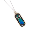 Comstock Heritage Boulder Opal/Emerald Necklace WOMEN - Accessories - Jewelry - Necklaces COMSTOCK HERITAGE Teskeys