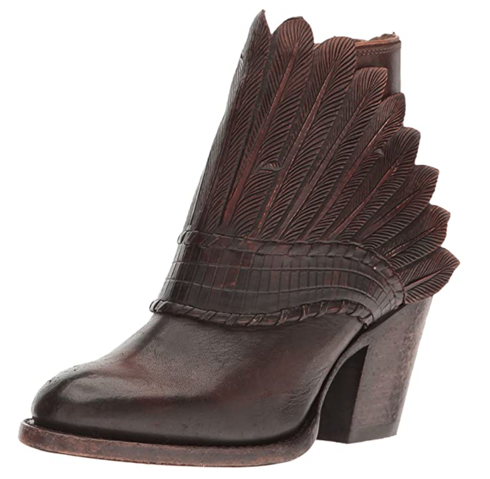 Lucchese Feather Headdress Boot 8B - FINAL SALE