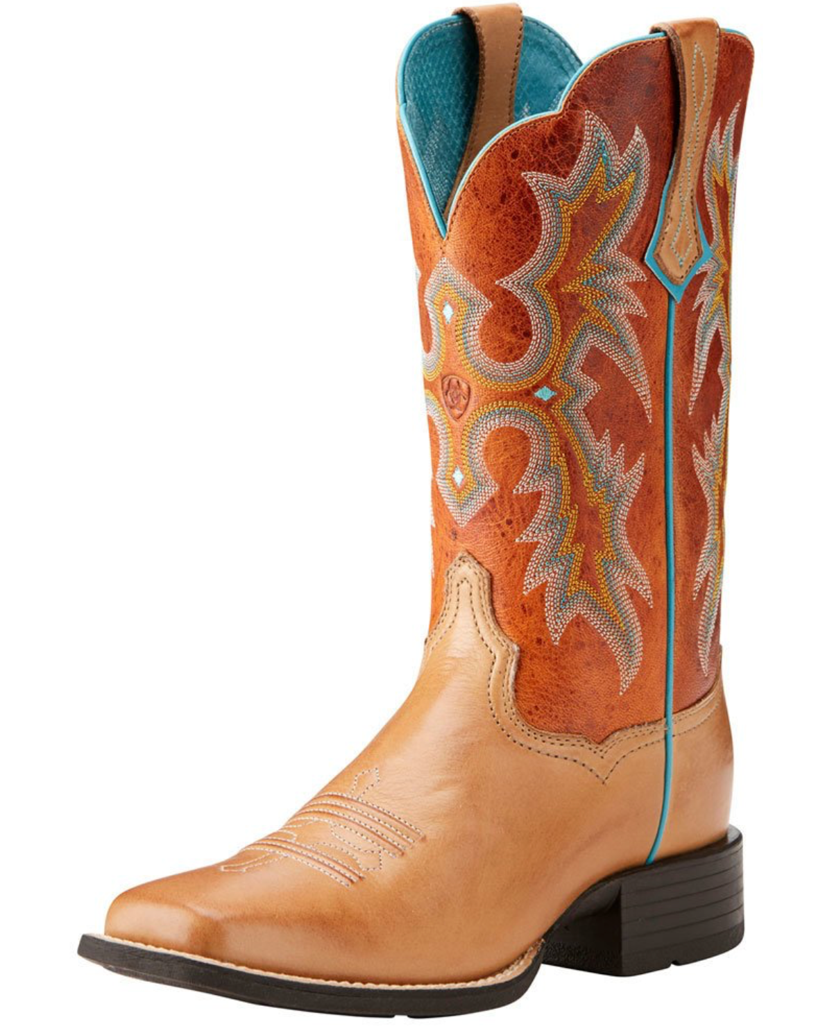 Ariat Womens Tombstone Rum Honey size 5.5B - FINAL SALE WOMEN - Footwear - Boots - Western Boots Ariat Footwear Teskeys
