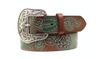Ariat Painted Roses Belt WOMEN - Accessories - Belts Teskeys Teskeys