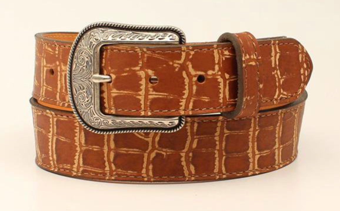 3-D Men's Vintage Croc Belt - Size 44 MEN - Accessories - Belts & Suspenders M&F Western Products Teskeys
