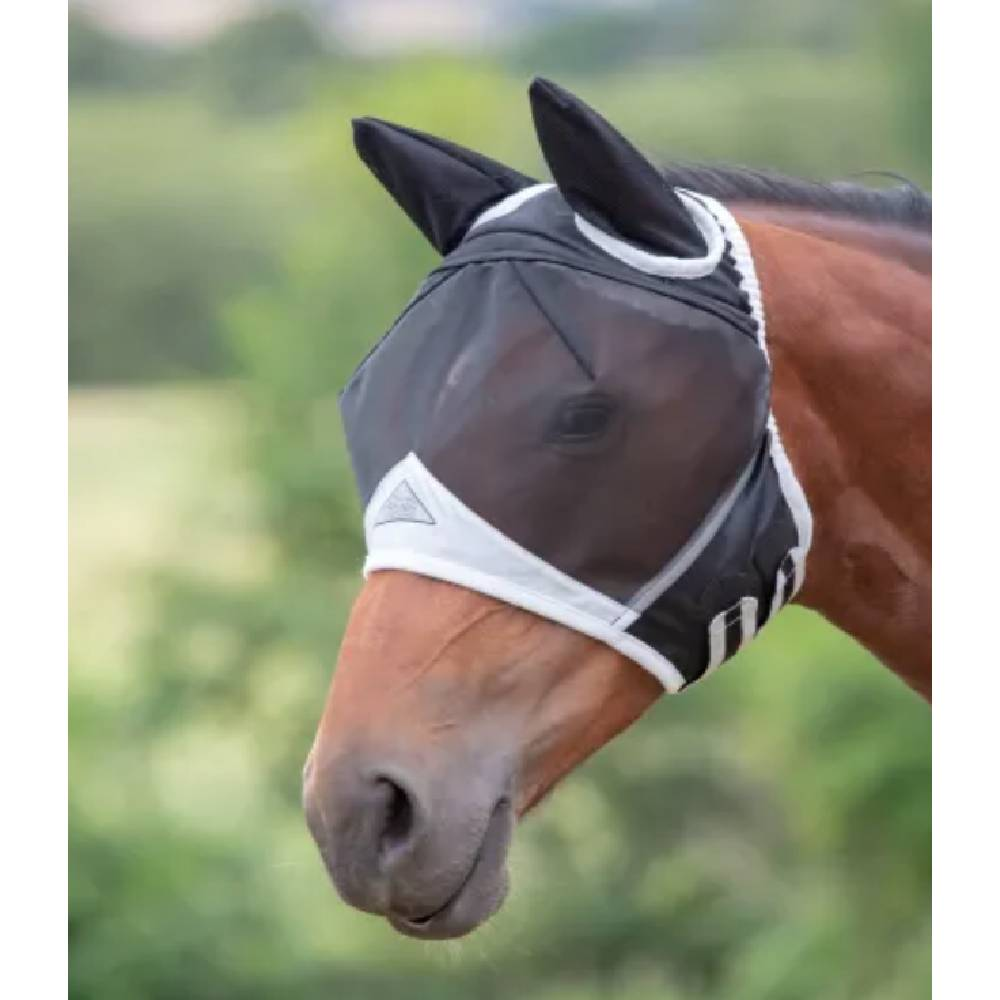 Shires Fine Mesh Fly Mask with Ears FARM & RANCH - Animal Care - Equine - Fly & Insect Control - Fly Masks & Sheets Shires Teskeys