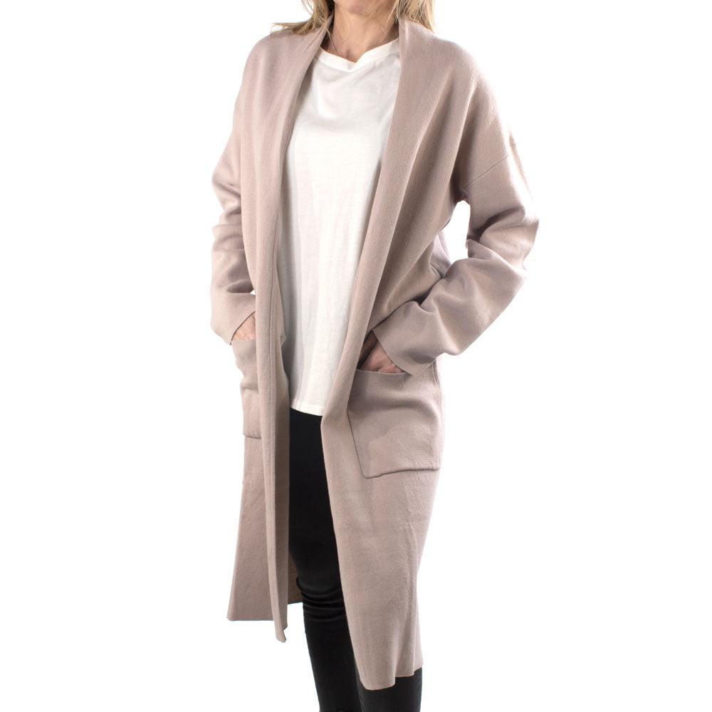 The Beau Pale Lilac Cardigan WOMEN - Clothing - Sweaters & Cardigans MOD REF Teskeys