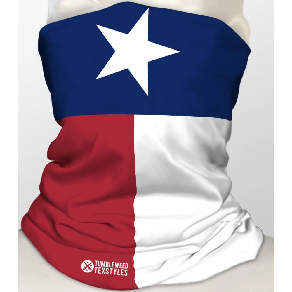 TWT Texas Flag Gaitor WOMEN - Accessories - Small Accessories TUMBLEWEED TEXSTYLES Teskeys