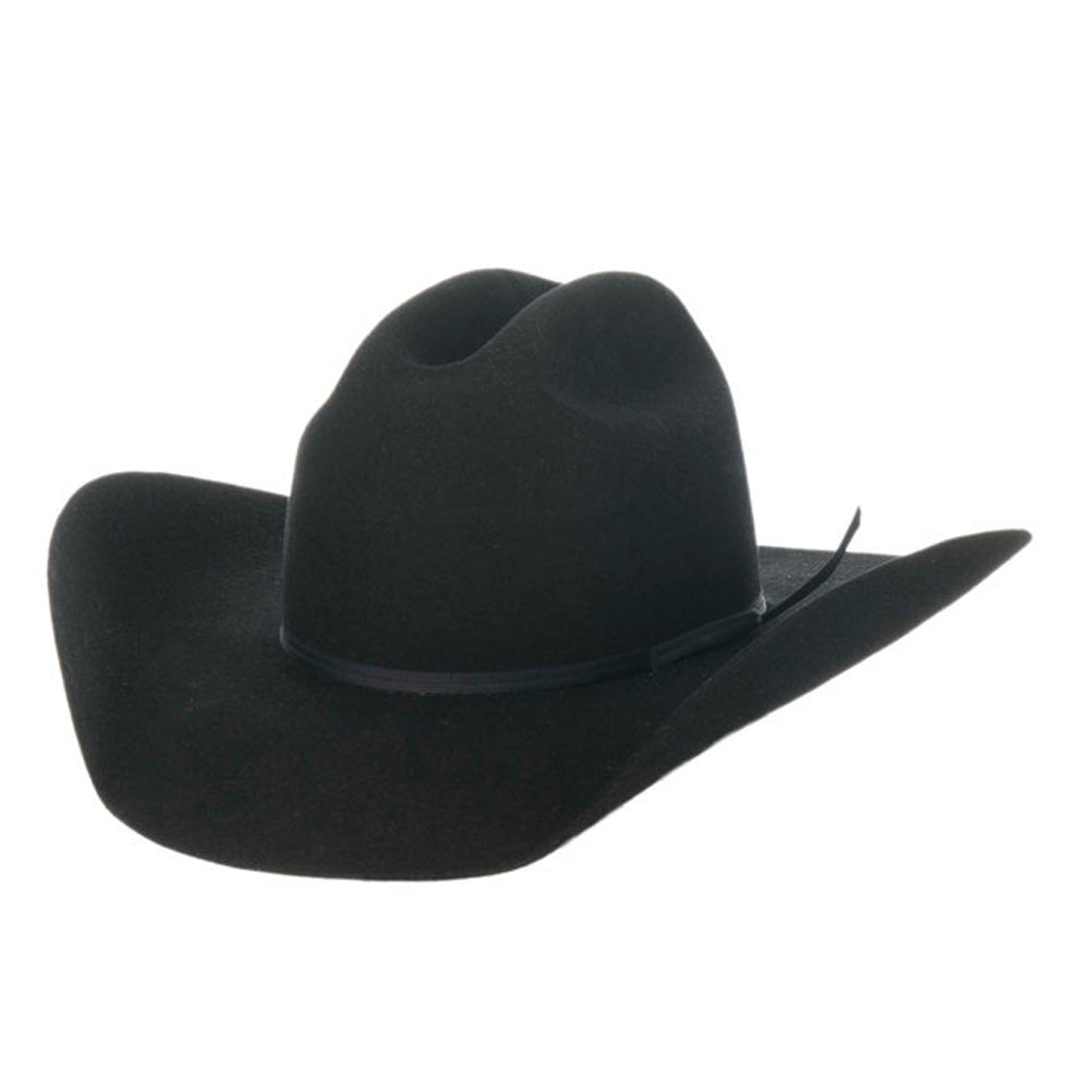 Twister Youth Black Wool Cowboy Hat HATS - KIDS HATS M&F WESTERN PRODUCTS Teskeys