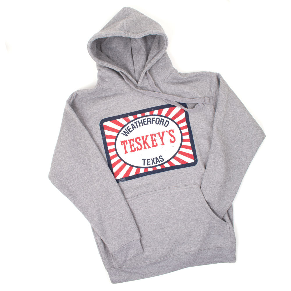 Teskey's Feedsack Hoodie - Premium Heather TESKEY'S GEAR - Hoodies OURAY SPORTSWEAR Teskeys
