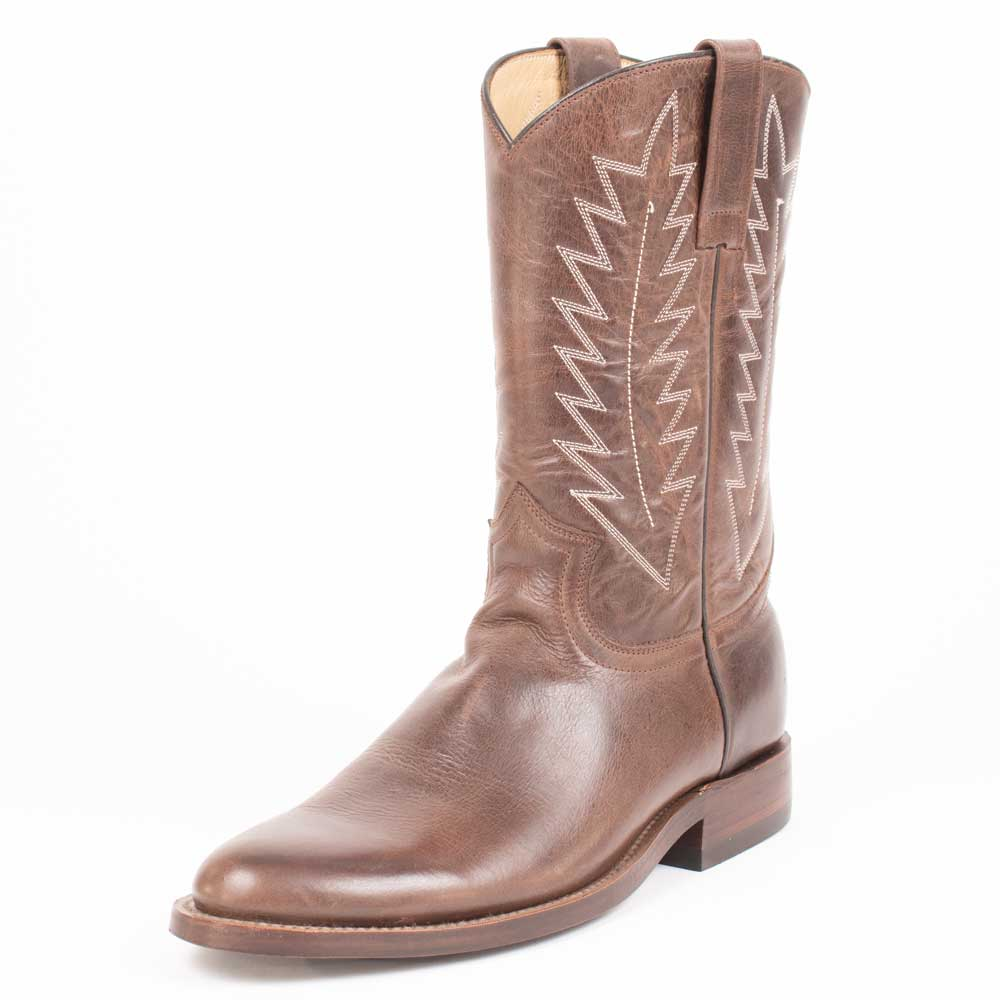 Teskey's Calf Skin Roper Boot 9D MEN - Footwear - Western Boots TESKEY'S CUSTOM BOOTS Teskeys