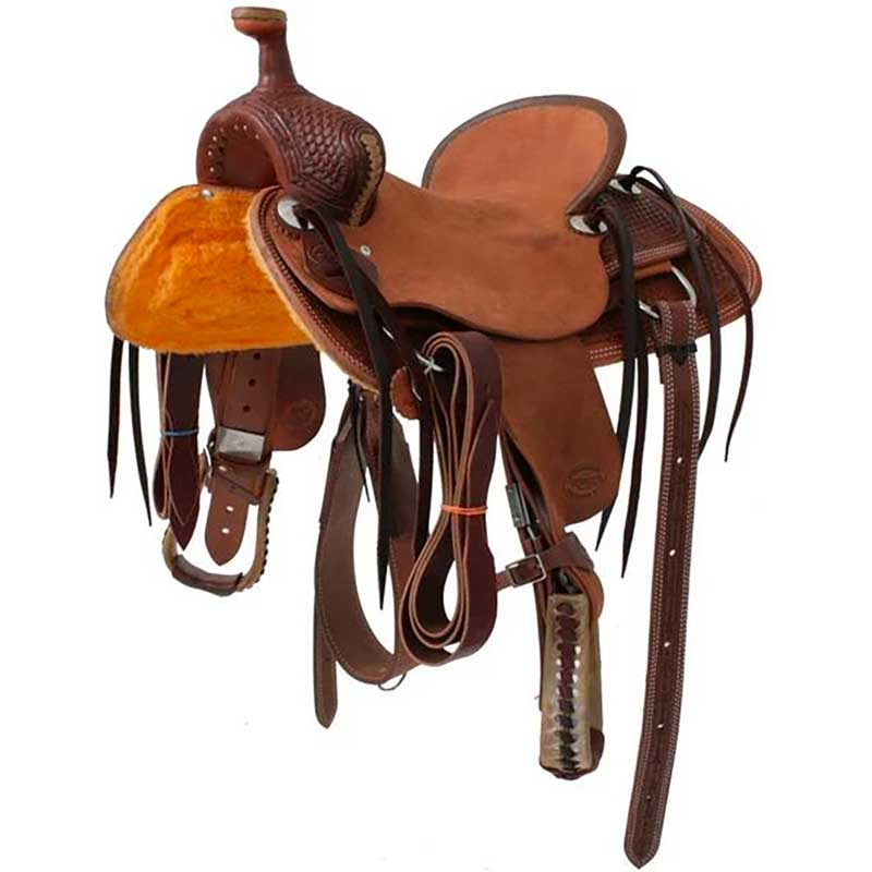 TESKEYS JR. ASSOCIATION RANCH SADDLE Saddles - New Saddles - JR. RANCH Teskey's Teskeys