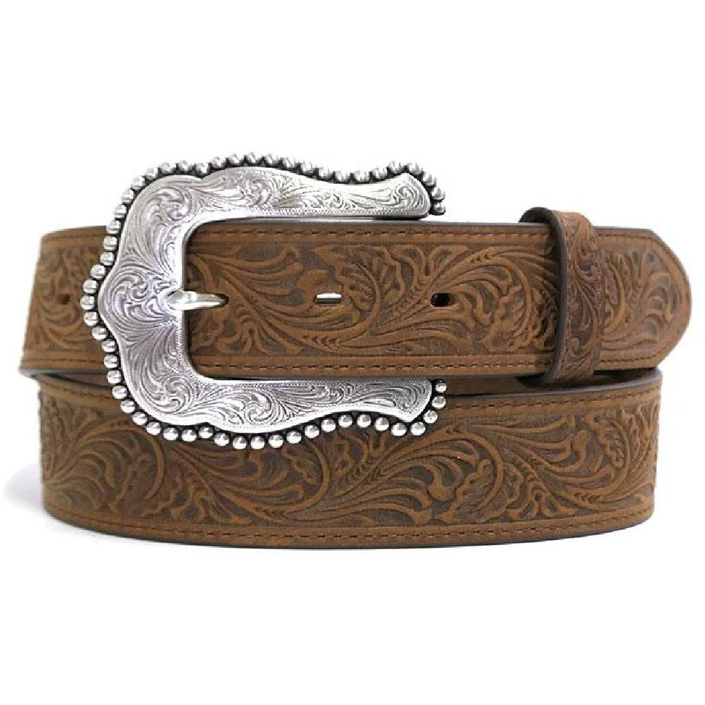 Tony Lama Tooled Layla Belt WOMEN - Accessories - Belts LEEGIN CREATIVE LEATHER/BRIGHTON Teskeys