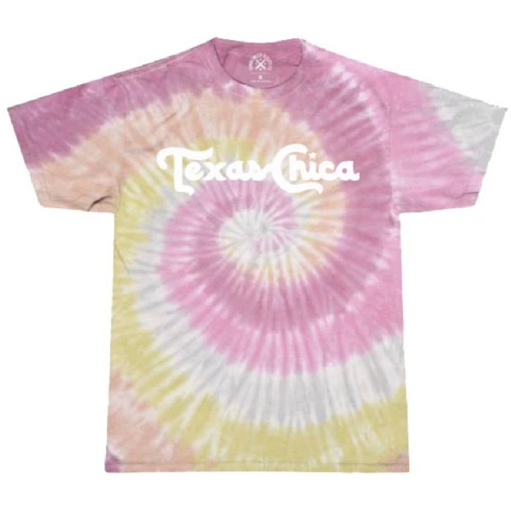 TWT Texas Chica Tie Dye Top