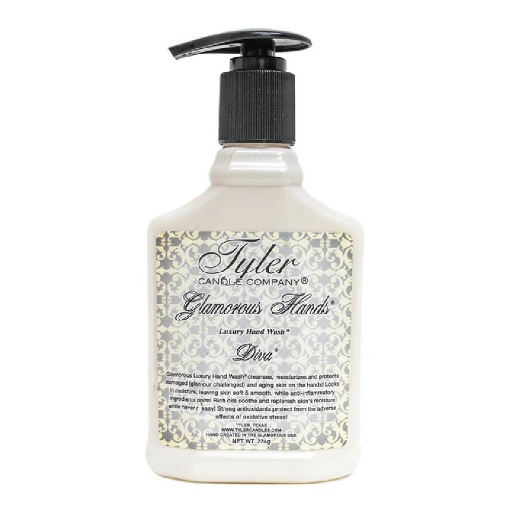 Diva Luxury Hand Wash - 8oz HOME & GIFTS - Bath & Body - Soaps & Sanitizers TYLER CANDLE COMPANY Teskeys