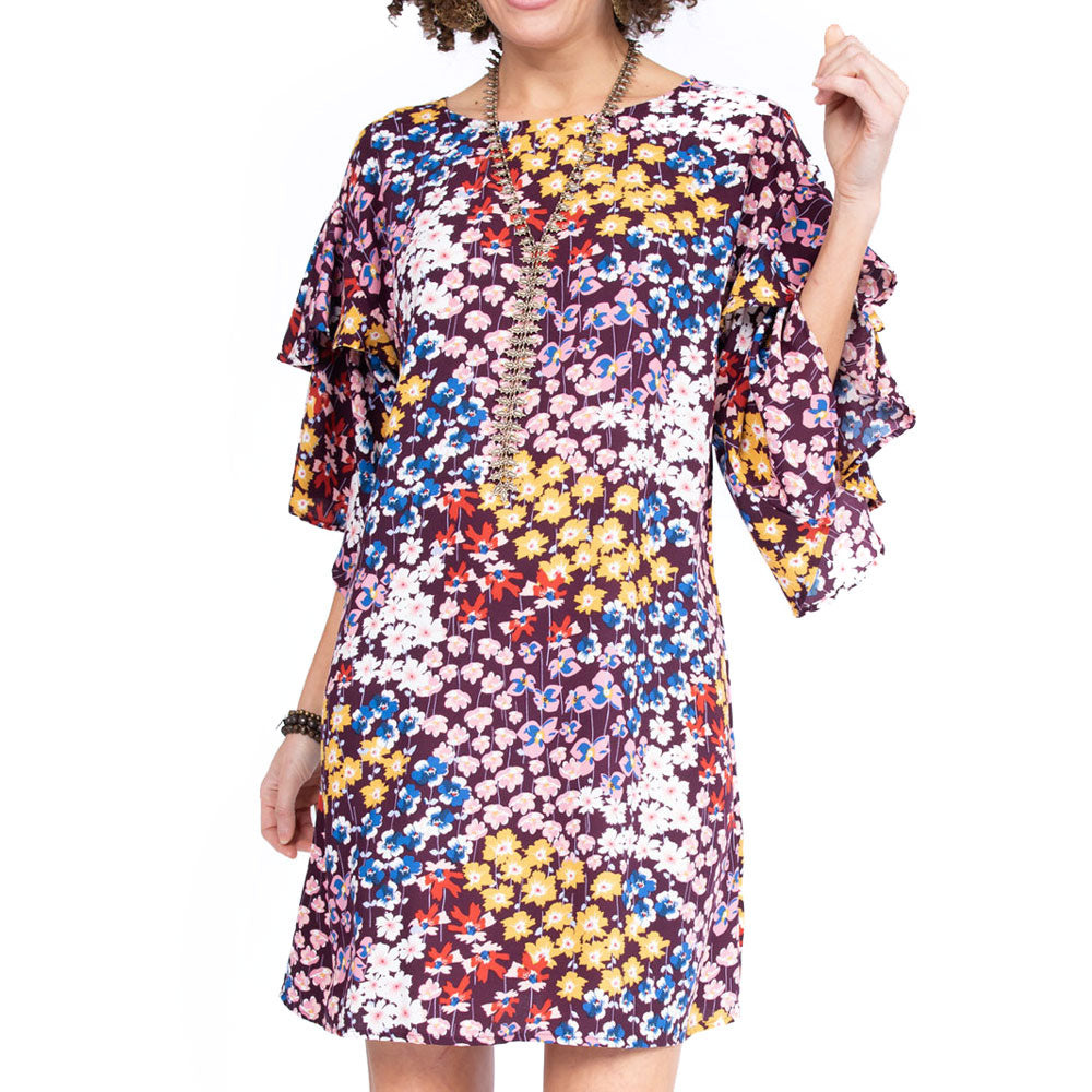 Ivy Jane Dolman w/Double Flounce Sleeves WOMEN - Clothing - Dresses IVY JANE Teskeys