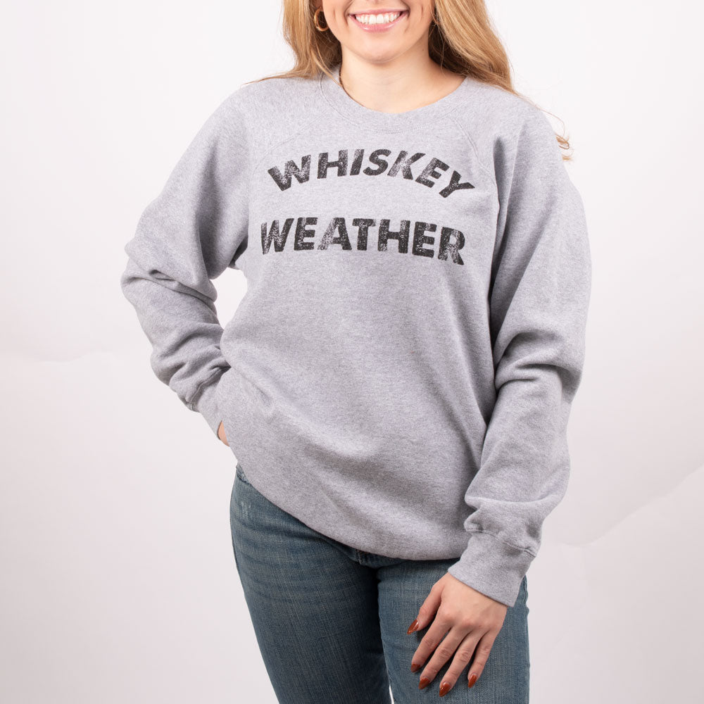 Original Retro Brand Whiskey Weather Crew Neck Sweatshirt MEN - Clothing - Pullovers & Hoodies RETRO BRAND Teskeys