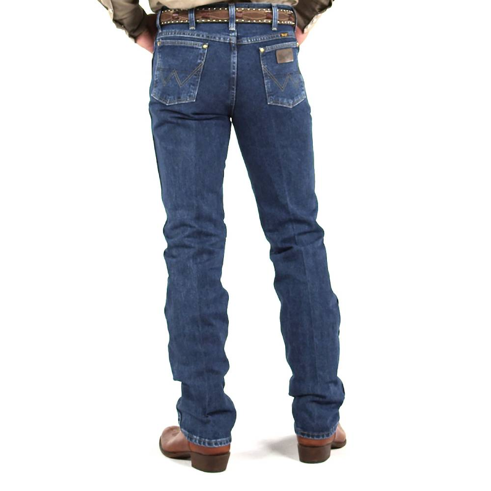 Wrangler George Strait Slim Fit Jean - Stone Denim MEN - Clothing - Jeans WRANGLER Teskeys