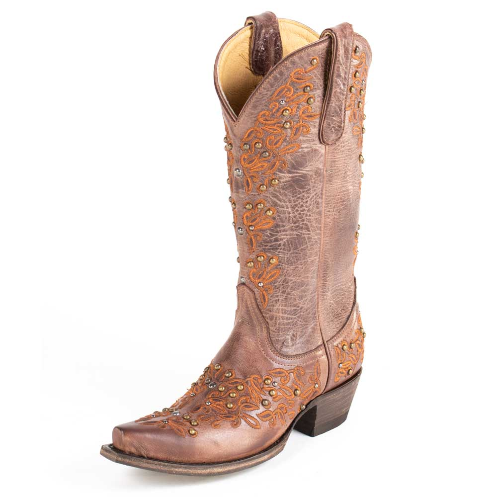 Old Gringo Elmira Cognac Boot WOMEN - Footwear - Boots - Fashion Boots OLD GRINGO Teskeys