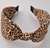 Leopard Silk Knot Headband WOMEN - Accessories - Hair Accessories MERVEILLE Teskeys