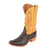 Rios of Mercedes Nicotine Smooth Ostrich/Tan Boots MEN - Footwear - Exotic Western Boots RIOS OF MERCEDES BOOT CO. Teskeys