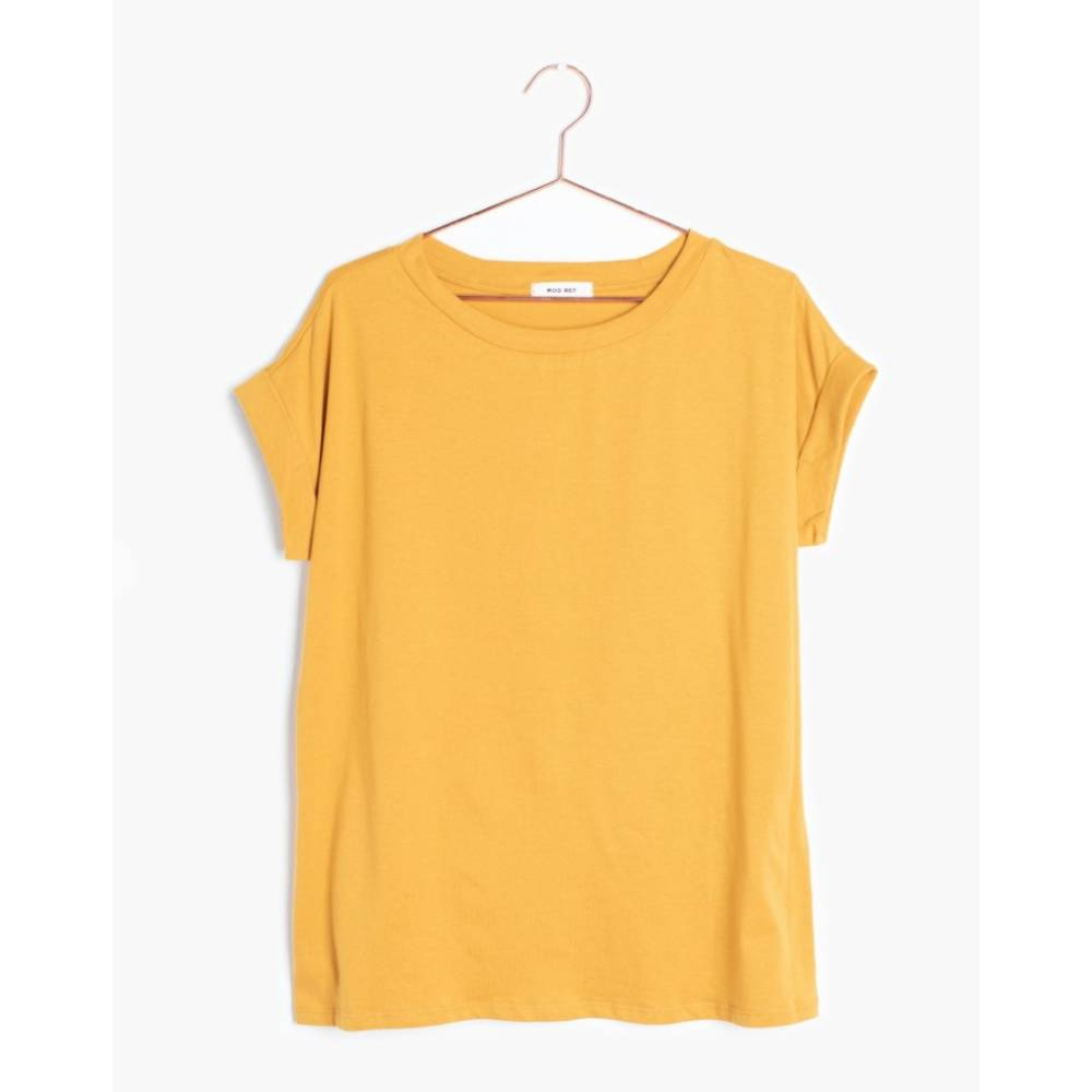 Allegro Top - Mustard WOMEN - Clothing - Tops - Short Sleeved MOD REF Teskeys