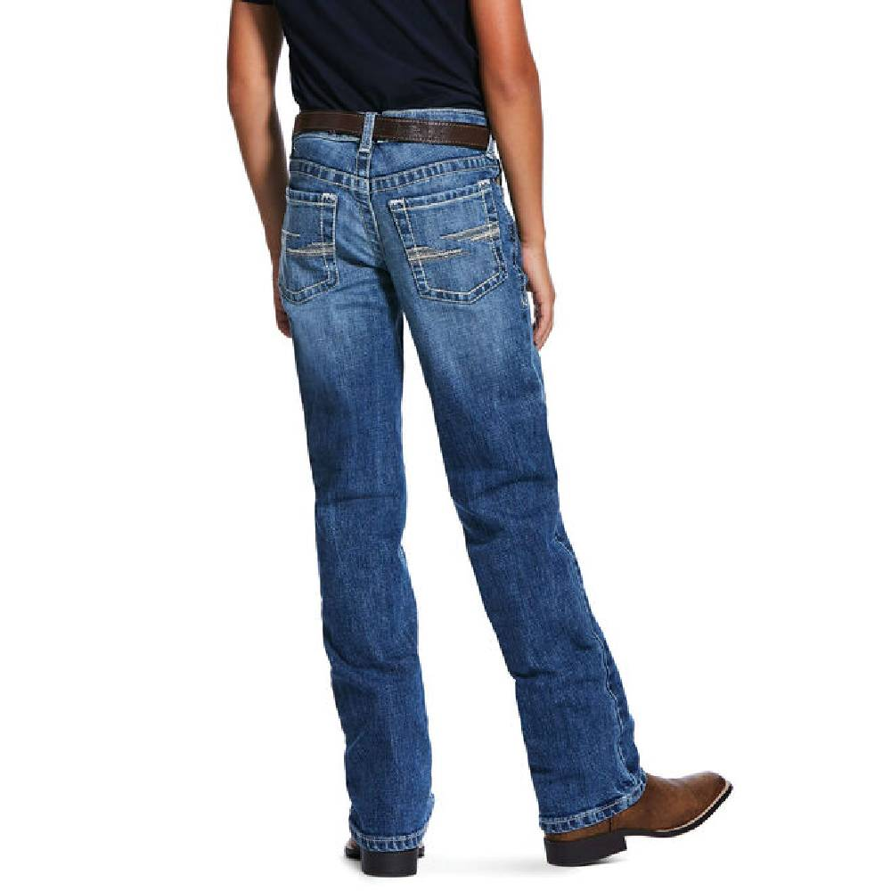 Ariat Boys B5 Stretch Straight Huron Jean KIDS - Boys - Clothing - Jeans Ariat Clothing Teskeys
