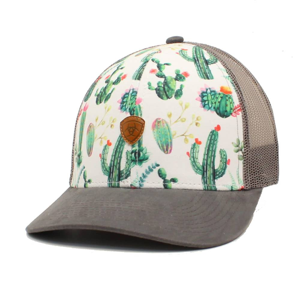 Ariat Cactus Print Cap WOMEN - Accessories - Caps, Hats & Fedoras M&F Western Products Teskeys