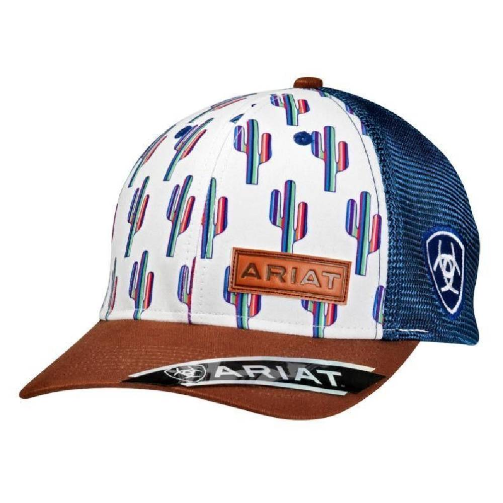 Ariat Cactus Cap HATS - BASEBALL CAPS M&F WESTERN PRODUCTS Teskeys