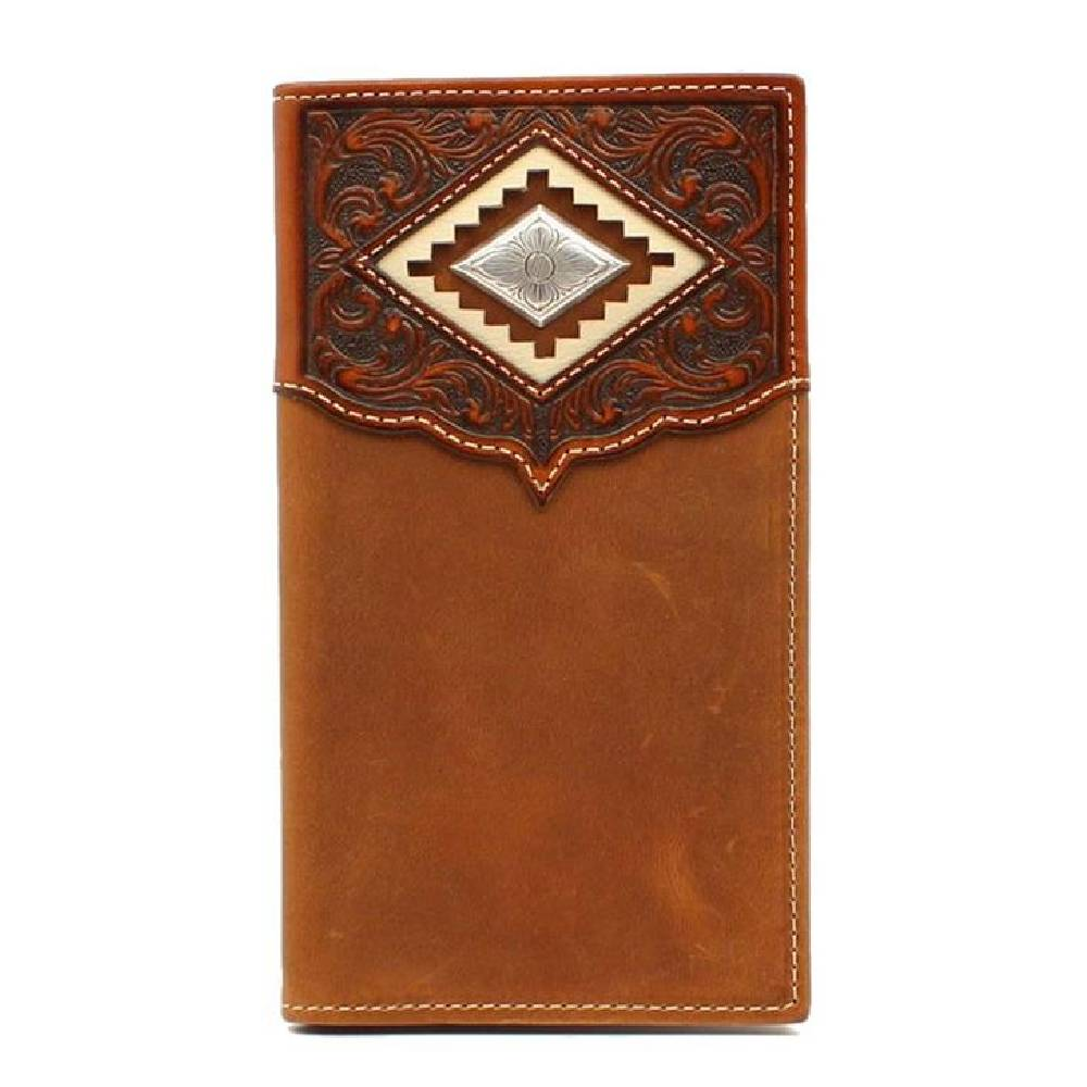 Ariat Diamond Concho Rodeo Wallet MEN - Accessories - Wallets & Money Clips Ariat Teskeys