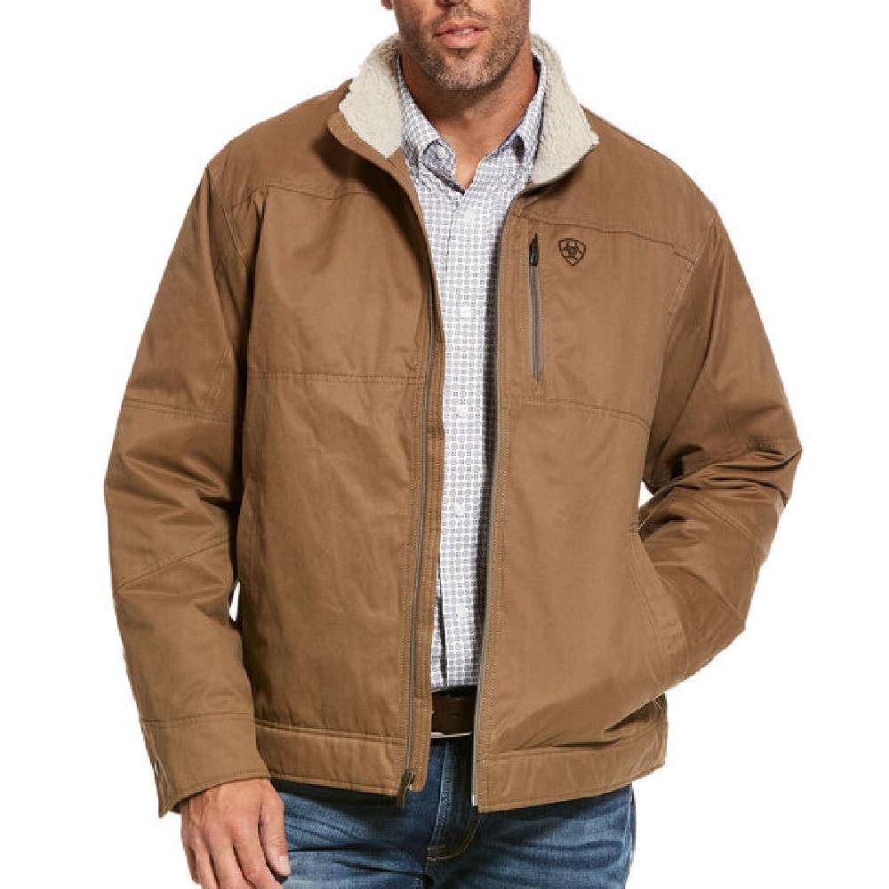 Ariat Grizzly Canvas Jacket MEN - Clothing - Outerwear - Jackets Ariat Clothing Teskeys
