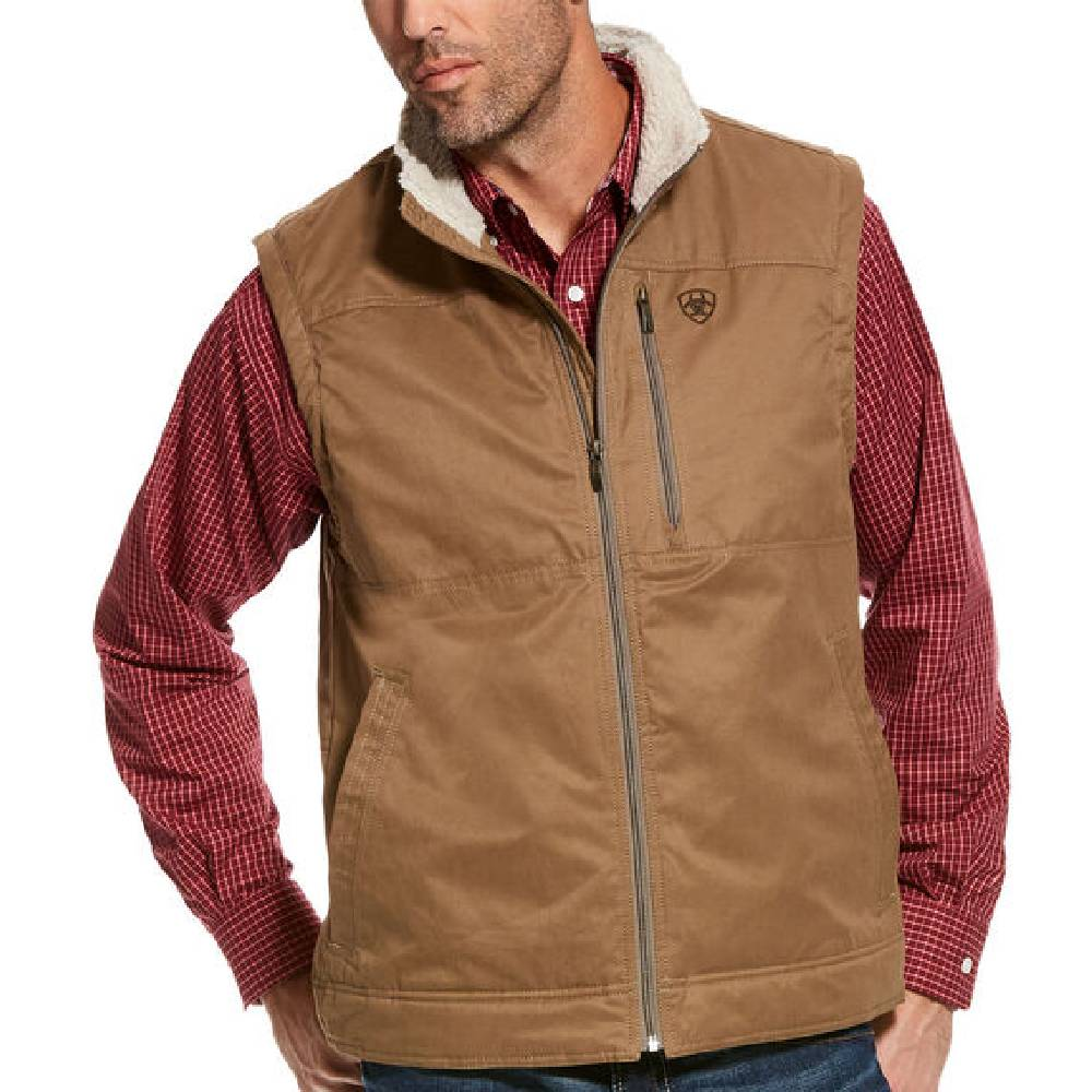 Ariat Grizzly Canvas Vest MEN - Clothing - Outerwear - Jackets Ariat Clothing Teskeys