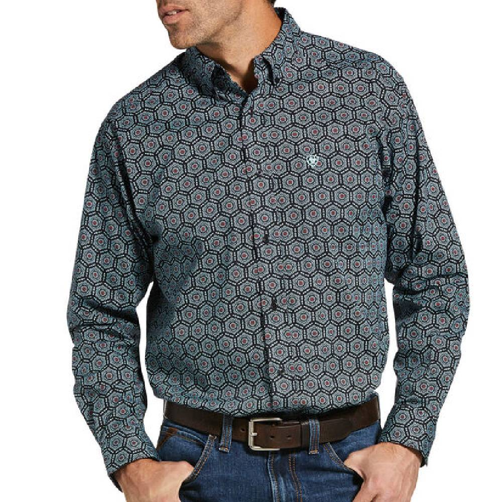 Ariat Iredell Button Up Shirt MEN - Clothing - Shirts - Long Sleeve Shirts Ariat Clothing Teskeys