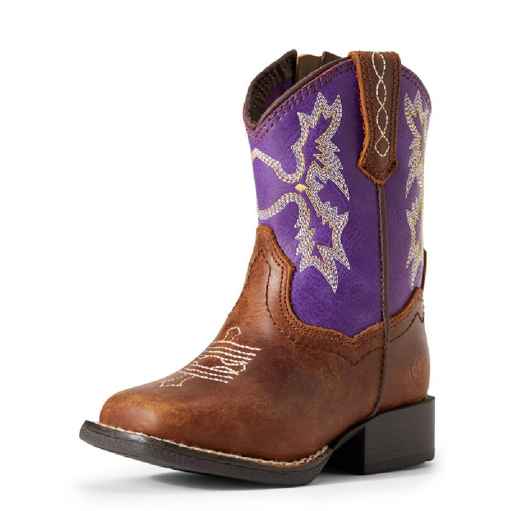 Ariat Lil Stompers Tombstone Boots KIDS - Footwear - Boots M&F Western Products Teskeys