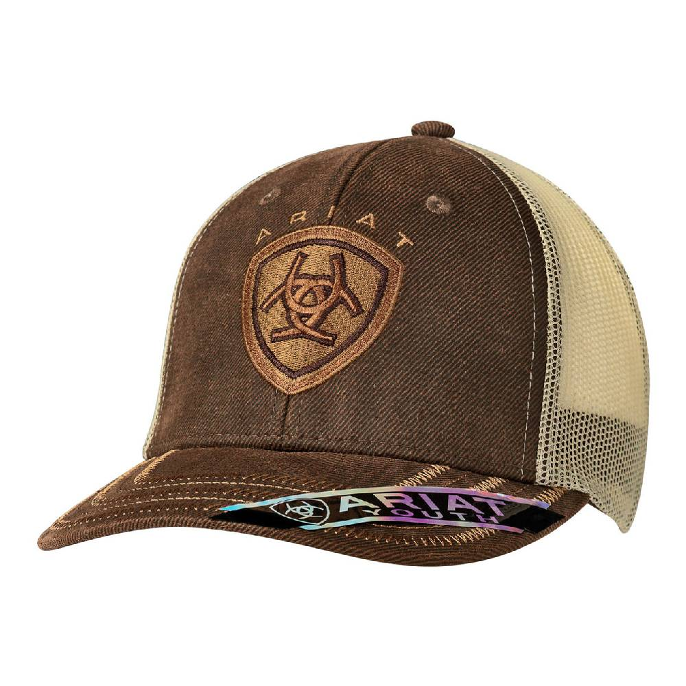 Ariat Youth Oilskin Cap KIDS - Accessories - Hats & Caps M&F WESTERN PRODUCTS Teskeys