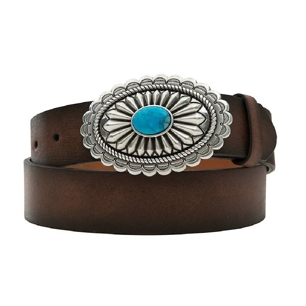 Ariat Women's Oval Buckle Belt WOMEN - Accessories - Belts M&F Western Products Teskeys