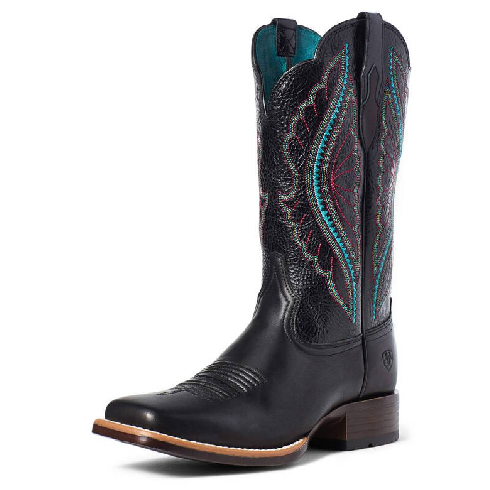 Ariat Primetime True Black Boot WOMEN - Footwear - Boots - Western Boots Ariat Footwear Teskeys