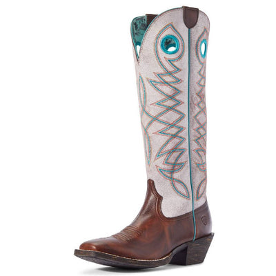 Ariat Round Up Buckaroo Boot WOMEN - Footwear - Boots - Western Boots Ariat Footwear Teskeys