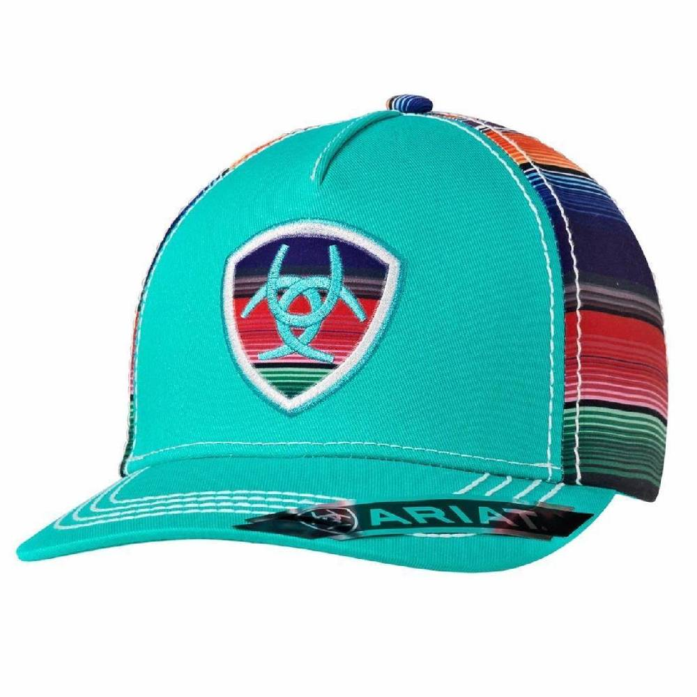 Ariat Serape Turquoise Cap WOMEN - Accessories - Caps, Hats & Fedoras Ariat Teskeys