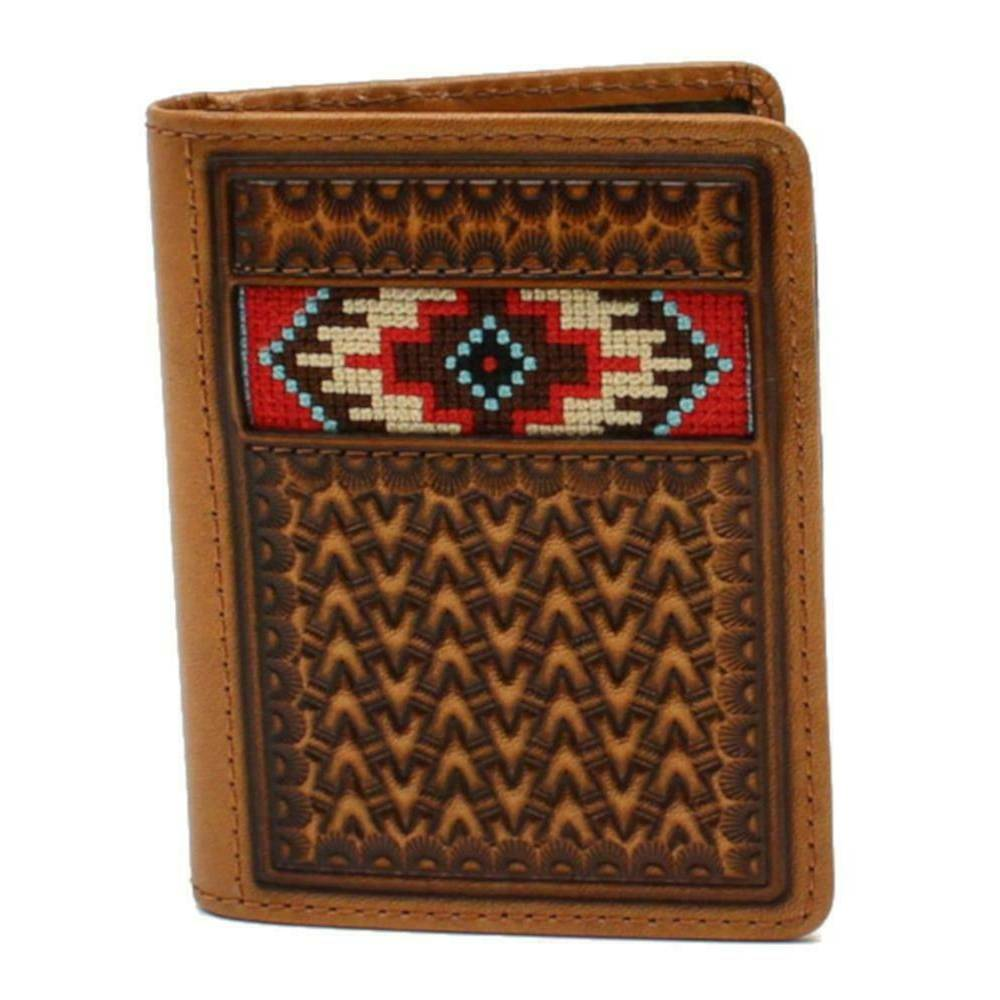 Ariat Southwest Inlay Bifold Wallet MEN - Accessories - Wallets & Money Clips M&F Western Products Teskeys