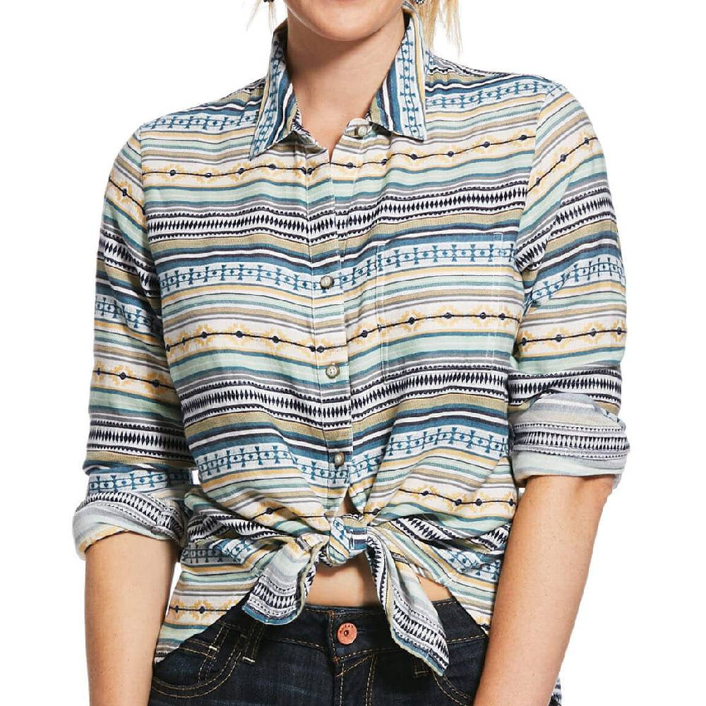 Ariat Sunny Button Up Shirt WOMEN - Clothing - Tops - Long Sleeved Ariat Clothing Teskeys