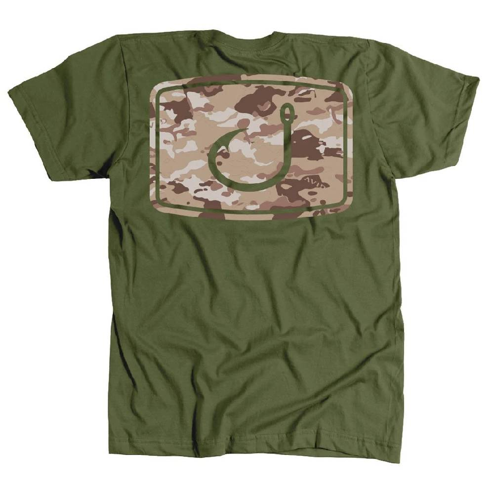 AVID Iconic Sand Camo Tee MEN - Clothing - T-Shirts & Tanks AVID SPORTSWEAR Teskeys
