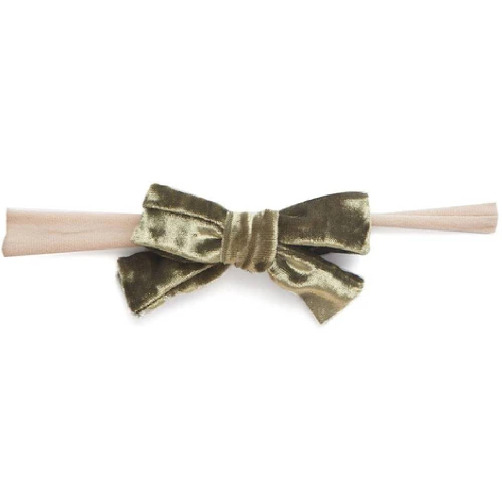 Baby Bling Skinny Velvet Bow Headband KIDS - Girls - Accessories BABY BLING BOWS Teskeys