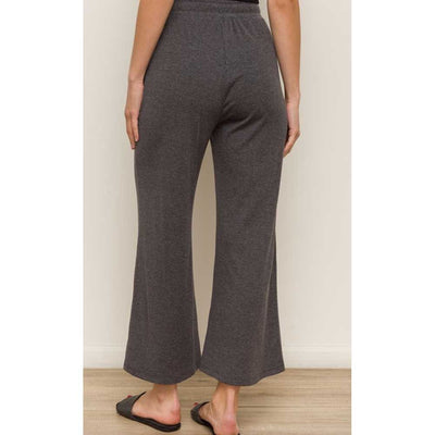 Wide Leg Drawstring Pants WOMEN - Clothing - Pants & Leggings HEM & THREAD, INC. Teskeys