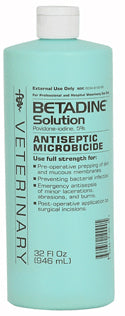Betadine Solution FARM & RANCH - Animal Care - Equine - Medical - Liniments & Poultices Teskeys Teskeys