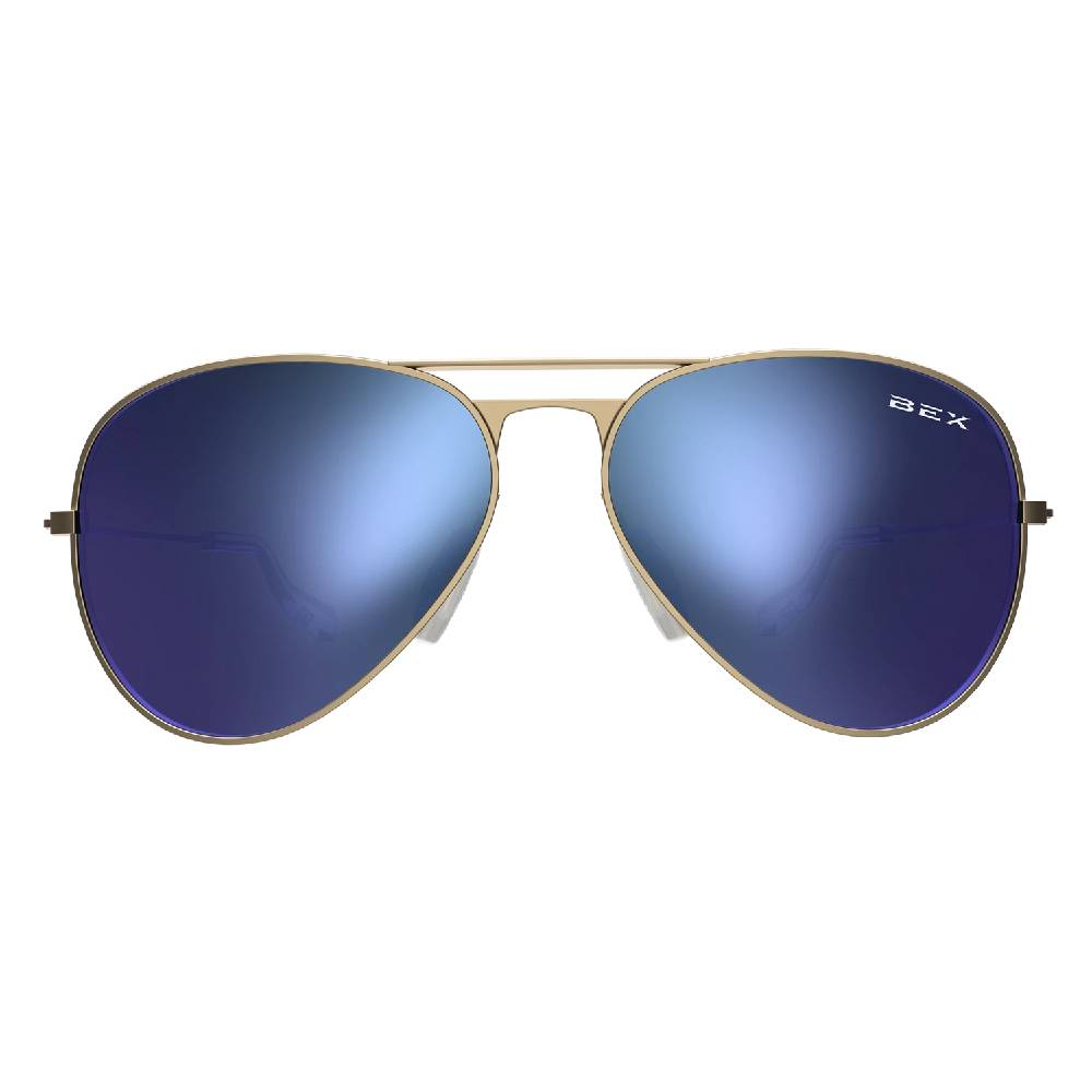 BEX Wesley Sunglasses-Gold/Sky ACCESSORIES - Additional Accessories - Sunglasses BEX Teskeys