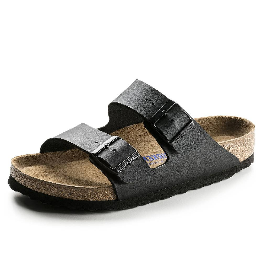 Birkenstock Arizona Black WOMEN - Footwear - Sandals BIRKENSTOCK Teskeys