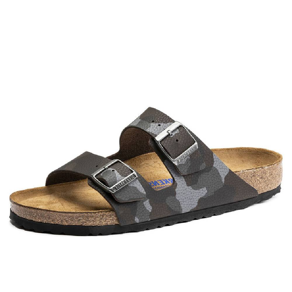 Birkenstock Arizona Desert Soil Camo Brown WOMEN - Footwear - Sandals BIRKENSTOCK Teskeys