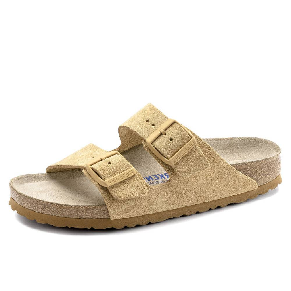 Birkenstock Arizona Latte Cream WOMEN - Footwear - Sandals BIRKENSTOCK Teskeys